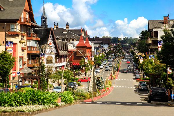Faça uma viagem a dois para Gramado, um dos melhores destinos no sul