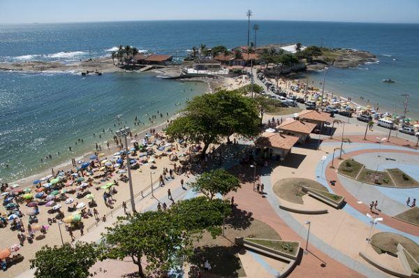 Visite a praia de Guarapari, um dos lugares exóticos do Espírito Santo