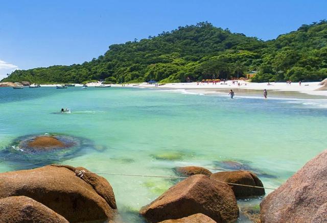 Praias paradisíacas, Ilha do Campeche, Floripa