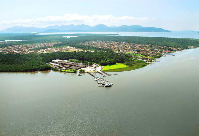 Baia da babitonga, Joinville, Guiche Virtual