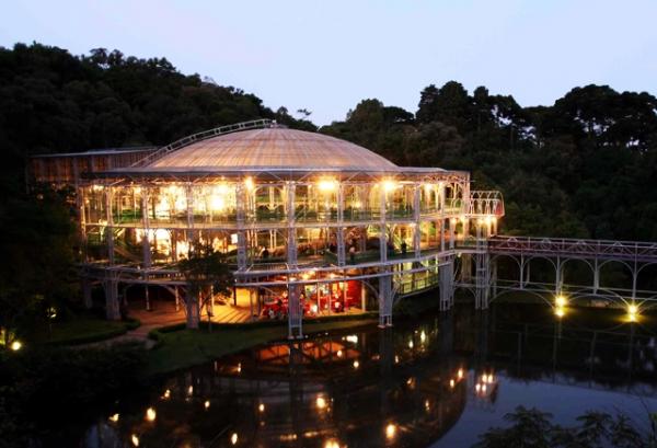 Jardim Botânico, Ópera de Arame, Parque Barigui, Curitiba - PR | Foto: Banco de Imagens