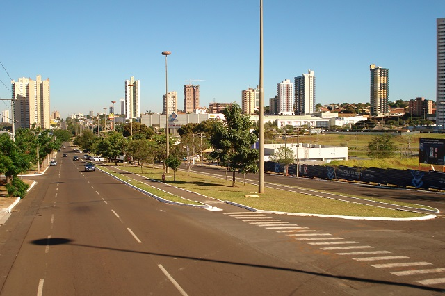 A Avenida Afonso Pena, leva aos principais pontos turístico da cidade.