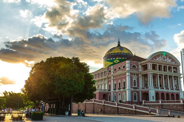 Teatro Amazonas, Manaus, Fugir do carnaval 2019, Guichê Virtual