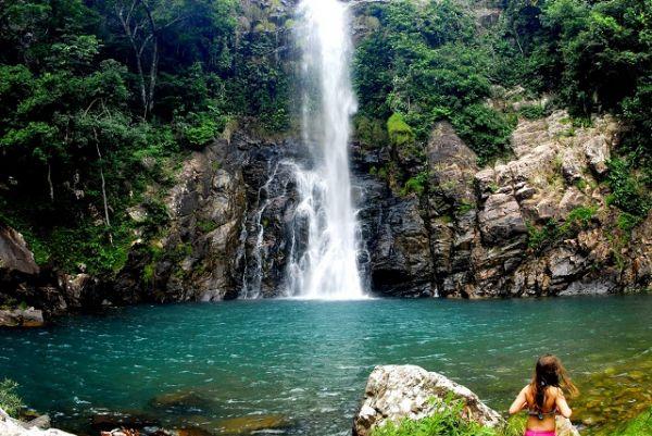 Cachoeira Serra Azul, em Nobres