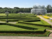 Jardim Botânico, em Curitiba.