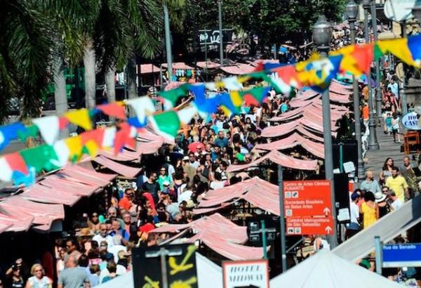 Feira do Rio Antigo, no Rio de Janeiro