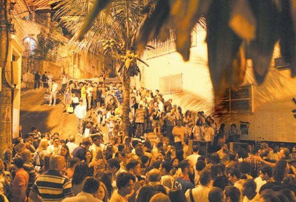 Roda de Samba Pedra do sal, no Rio de Janeiro