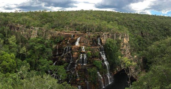 Vista do Mirante para a Cachoeira Almécegas II. Créditos: Stella Papoy Szczerbenko