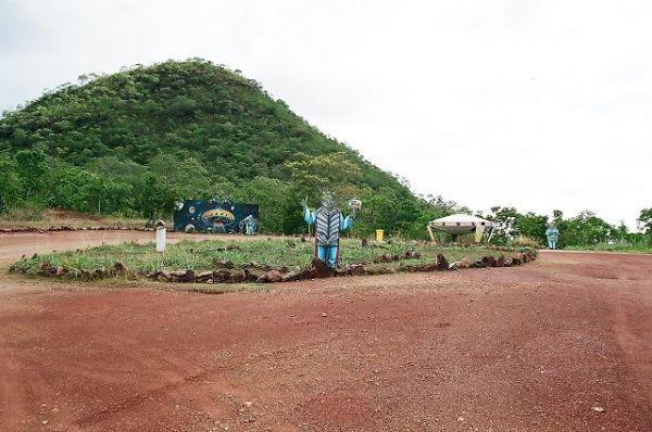 Área do discoporto de Barra do Garças