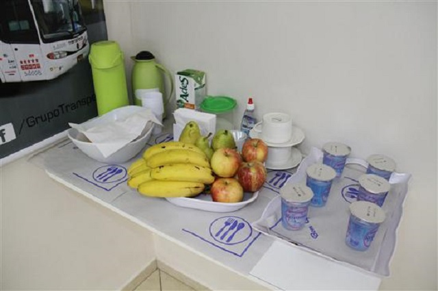 Café da Manhã Sala Vip Transpen, Guichê Virtual