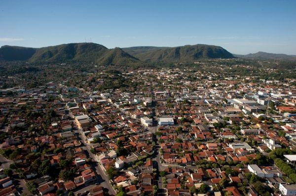 Vista aérea de Barra do Garças. Créditos: José Medeiros
