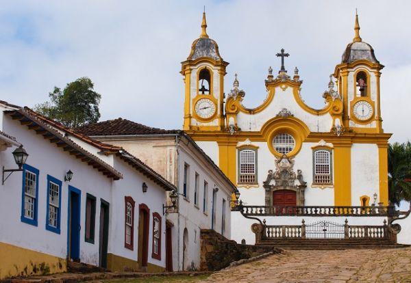 Igreja Matriz de Santo Antônio, Tiradentes - MG | Foto: Banco de Imagens