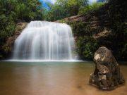 Parque Estadual Serra de Caldas Novas, Roteiro em Caldas Novas