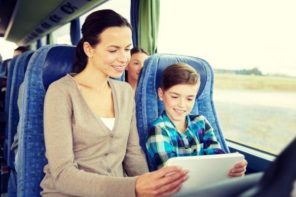 Crianças podem viajar sozinhas de ônibus