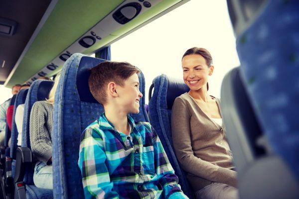 Documentos necessários para viajar de ônibus com crianças