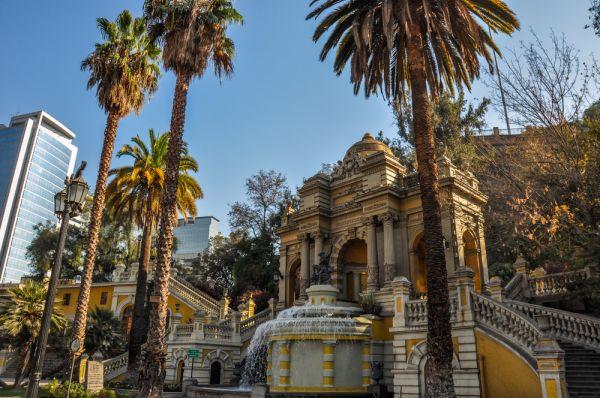 Santiago - destinos baratos na América do Sul