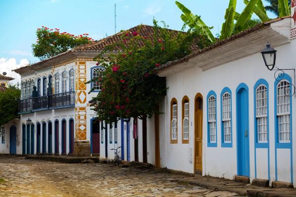 Passeios baratos em Paraty: Centro histórico