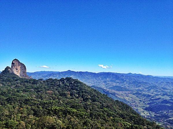 Vista da Pedra do Baú | Foto: Banco de imagens