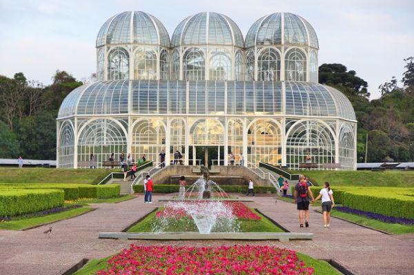 Jardim Botânico de Curitiba - viajar no inverno brasileiro