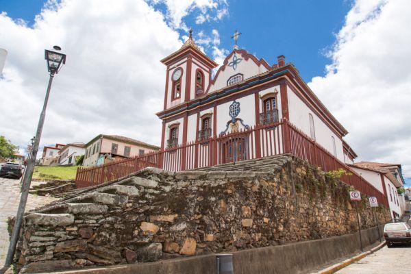 Igreja de São Francisco de Assis, em Diamantina - MG