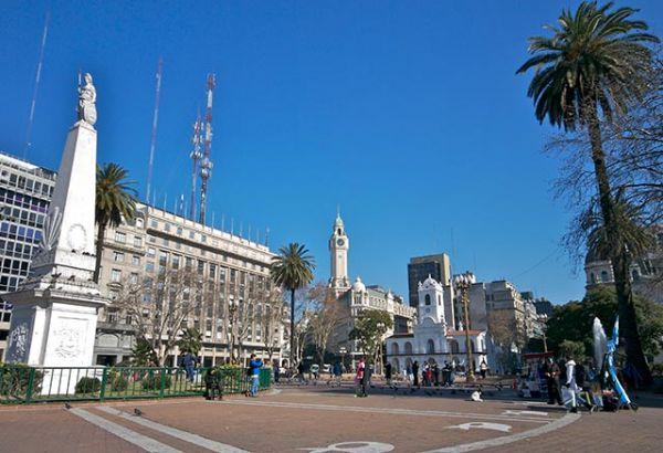 Plaza de Mayo - BS   Fonte: Banco de Imagens