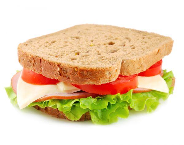 O sanduíche natural é a melhor opção | Foto: Banco de imagens