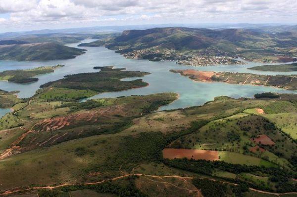 Vista do Morro do Chapéu, em Capitólio