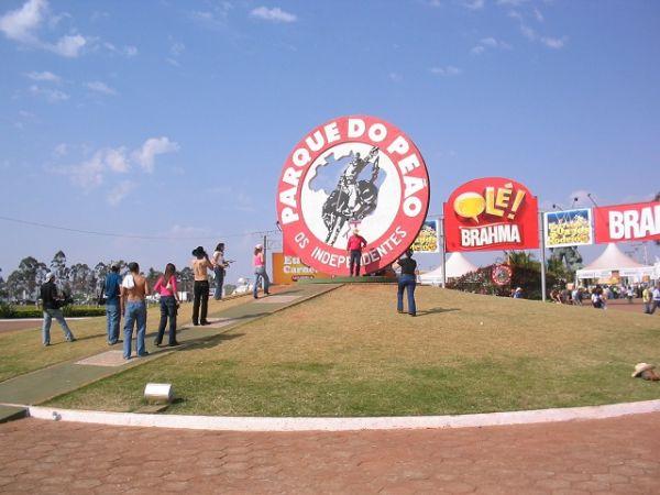 Parque do Peão na Festa do Peão de Barretos