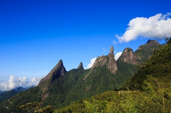 Serra dos Órgãos, uma das serras brasileiras