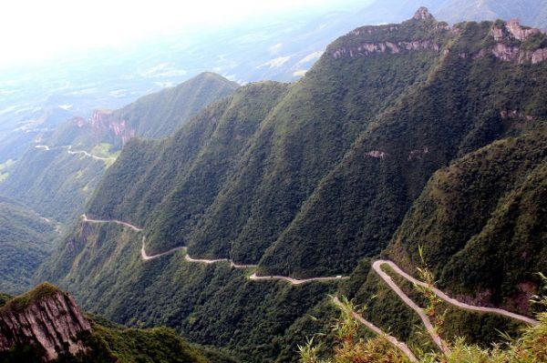 Serra do Rio do Rastro, uma das serras brasileiras