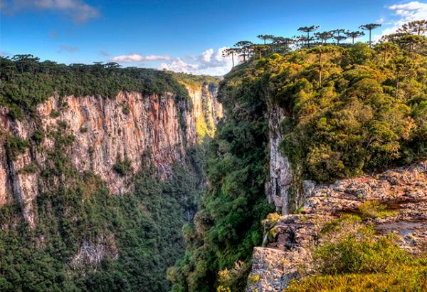 Cânions do Itaimbezinho na Serra Gaúcha