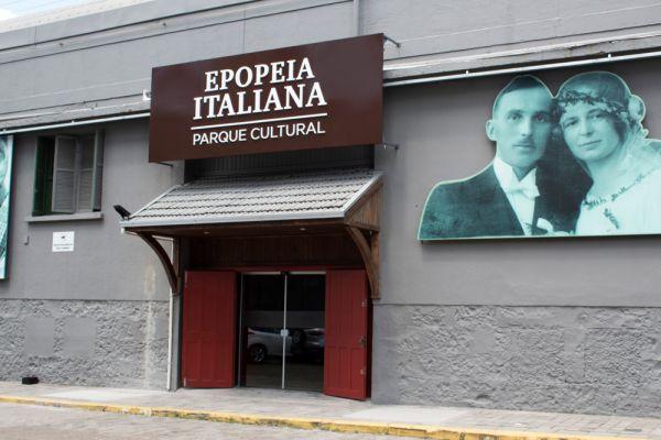 Epopeia Italiana, em Bento Gonçalves na Serra Gaúcha