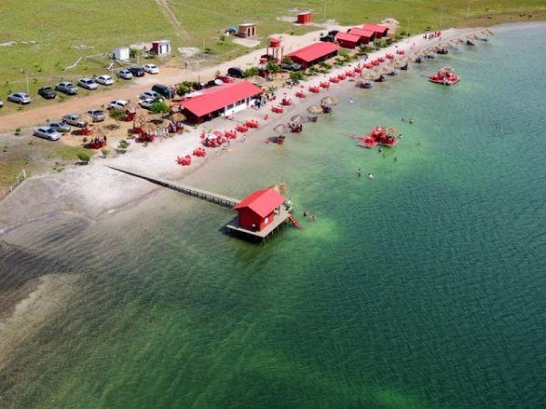 Lago do Robertinho, um dos lugares pouco conhecidos