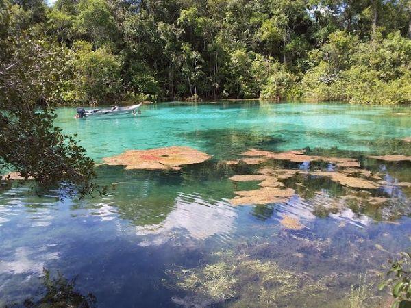 Lagoa Encantada, em Primavera do Leste, um dos lugares pouco conhecidos do Brasil