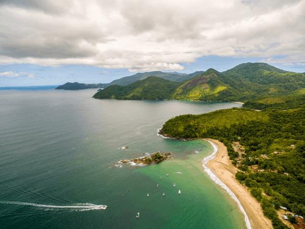 Praia de Castelhanos - Praias do Sudeste
