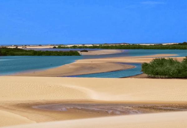 Conheça a Barra dos Remédios uma das praias paradisíacas do Brasil
