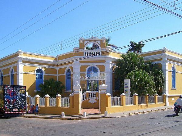 Casa do Artesão, Cuiabá - MT   Foto: Banco de Imagens