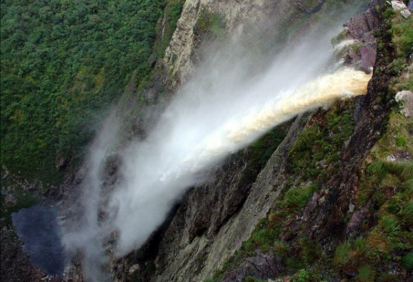 Cachoeira da Fumaça - Palmeiras (BA) - Cachoeiras do Brasil