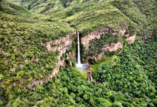 Salto do Itiquira - Cachoeiras do Brasil