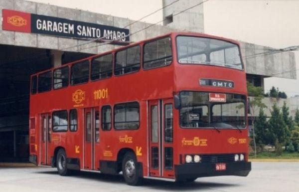 Ônibus de dois andares - curiosidades sobre São Paulo