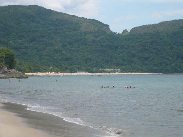 Toque-toque pequeno, uma das melhores praias de São Paulo